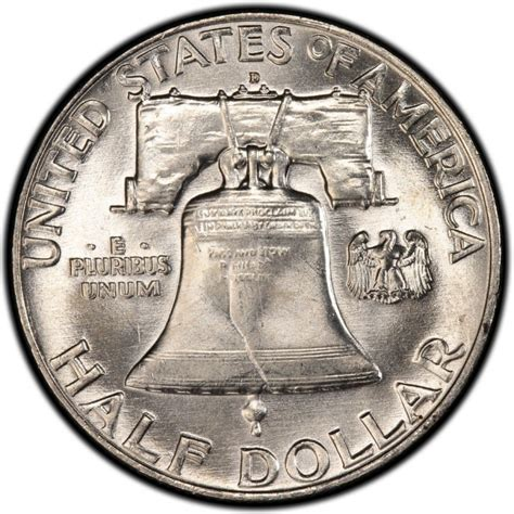 half dollar coin value 1957 franklin half dollar values and prices past sales coinvalues com