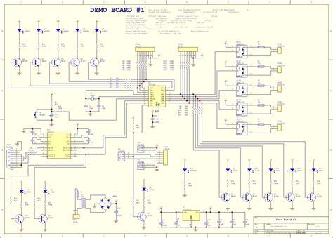 microcontroller based electronic circuit diagrams