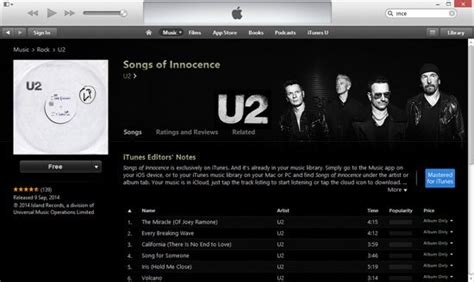 apple hits new record with how to u2 album in apple itunes for free