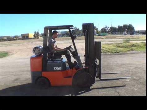 tcm fcgft toyota powered lb capacity