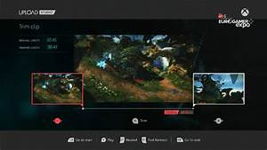Xbox One Dvr Features User Interface Screens