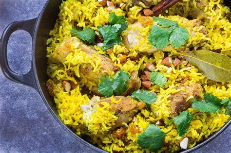 Stovetop Chicken Biryani (indian Chicken With Rice)