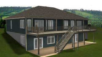 Bungalow Floor Plans With Walkout Basement by Bungalows 60 Plus Ft By E Designs 9