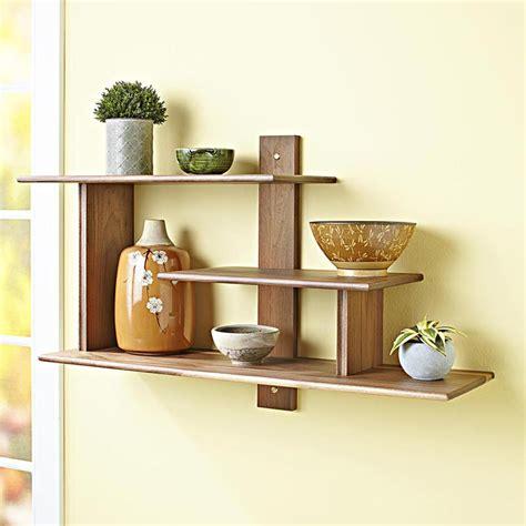 modern wall shelf woodworking plan  wood magazine