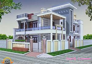 36x62 Decorative modern house in India