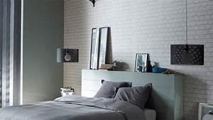 Papier Peint Ado : papierpeint9 papier peint castorama chambre ado ~ Dallasstarsshop.com Idées de Décoration