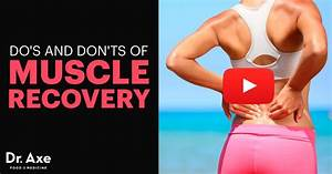 Do U0026 39 S And Don U0026 39 Ts Of Muscle Recovery