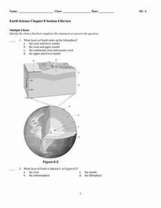 Which Layers Make Up The Lithosphere Of Earth