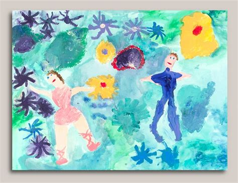 Dancing With Monet's Water Lilies Craft