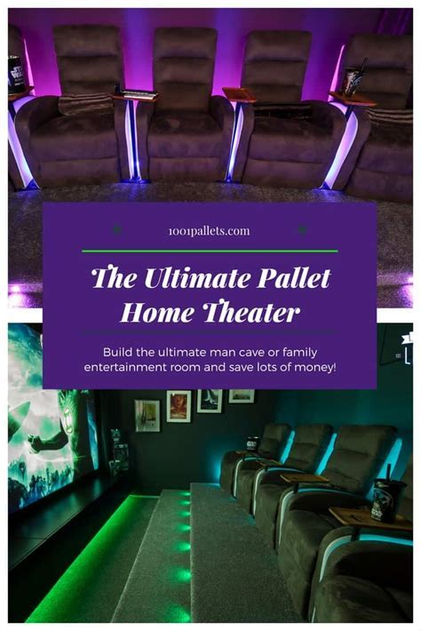 Build Your Own Pallet Home Theater! ? 1001 Pallets