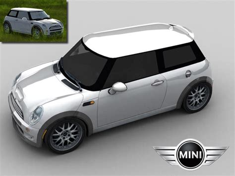 Trackmania Carpark €� 3d Models €� Bmw Mini Cooper S
