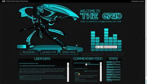 cool gaia profile layout ideas