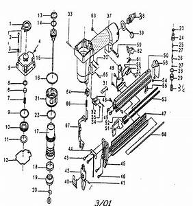 Craftsman 875184530 Power Nailer Parts