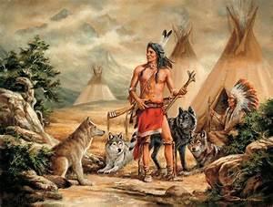 Centerblog.net wolf+winter+native american+gifs | indianen ...