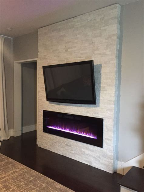 Best 25+ Wall Mount Electric Fireplace Ideas On Pinterest