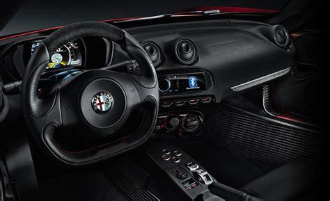 alfa romeo 4c interieur car and driver
