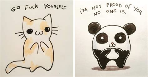 offensive  cute greeting cards