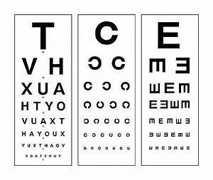 Large Framed Print Modern Eye Chart Picture Snellen