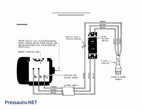 single phase motor starter wiring diagram pdf