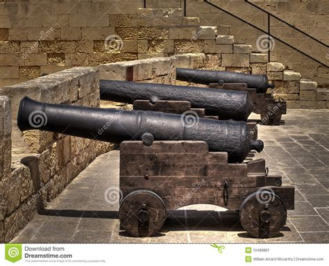 siege canon cannons stock image image of wedge siege
