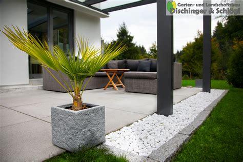 Schöner Moderner Garten by Granitgarten In W 246 Rthsee Bei M 252 Nchen Dischinger Und