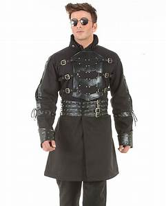 Van Helsing Steampunk Trench Coat C1358 - Men's Steampunk ...