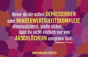 aufbauende sprüche bei depressionen zitat sigmund freud depressionen minderwertigkeitskomplexe arschlöcher