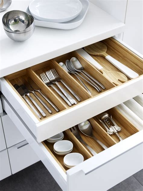 kitchen drawer organizers ikea from flatware trays to spice racks ikea variera kitchen 4725