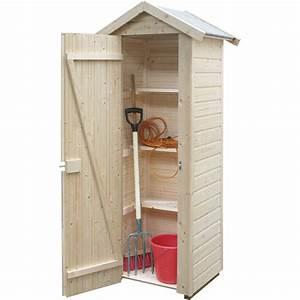 armoire de rangement en epicea 03 m2 olp jardinerie With placard a balai exterieur