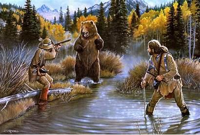 West Western Desktop Wild American Background Bear