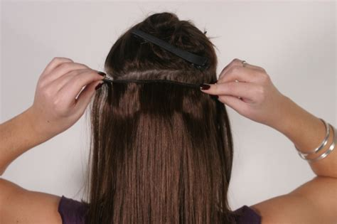 Instant Hair Length With Clip In Hair Extensions