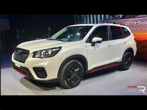 2019 Subaru Forester Sport  Redline First Look 2018