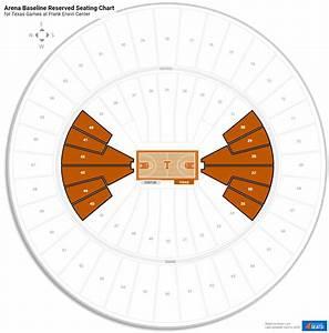Frank Erwin Center  Texas  Seating Guide
