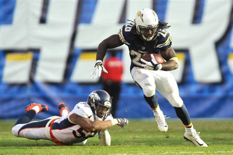 Starting Running Back For San Diego Chargers