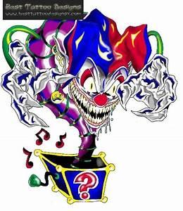 25 best Evil Clown Tattoo Flash images on Pinterest | Evil ...