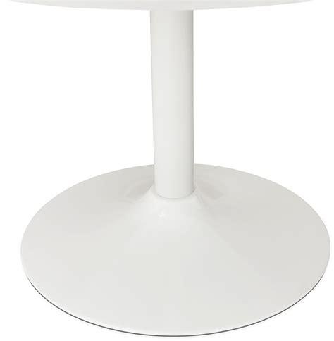 table ronde de bureau table à diner ronde barabar en bois blanc table de bureau