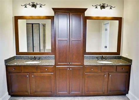 Double Sink Vanities With Storage Towers Auto Repair Shop Floor Plans Sprinter Travel Trailer Modern One Story 2000 Square Foot Open Levitt Homes Plan Titanic Ashton Woods Country Cabin