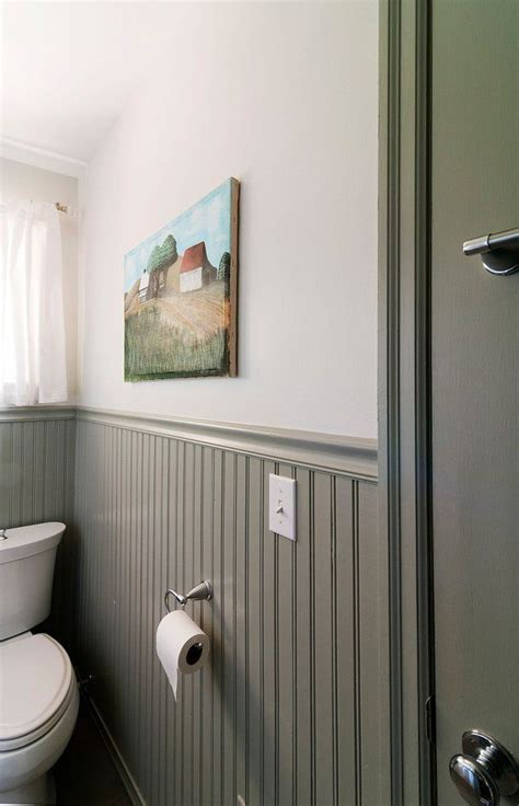 Painted Wainscoting by Marsi Robert S Bright And Tidy Southern Ranch In 2019