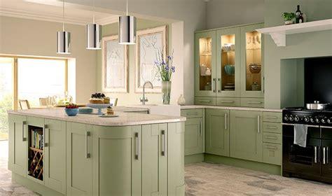 Tiverton Sage Green Kitchen  Wickescouk