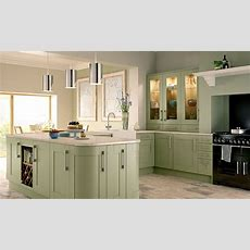 Tiverton Sage Green Kitchen Wickescouk