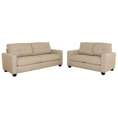 tufted sofa and loveseat set modern tufted sofa and loveseat set beige s5093 2pc