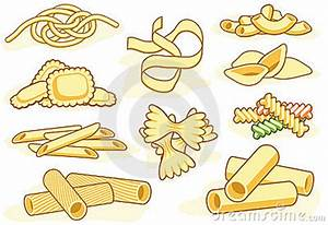 Different Pasta Clipart