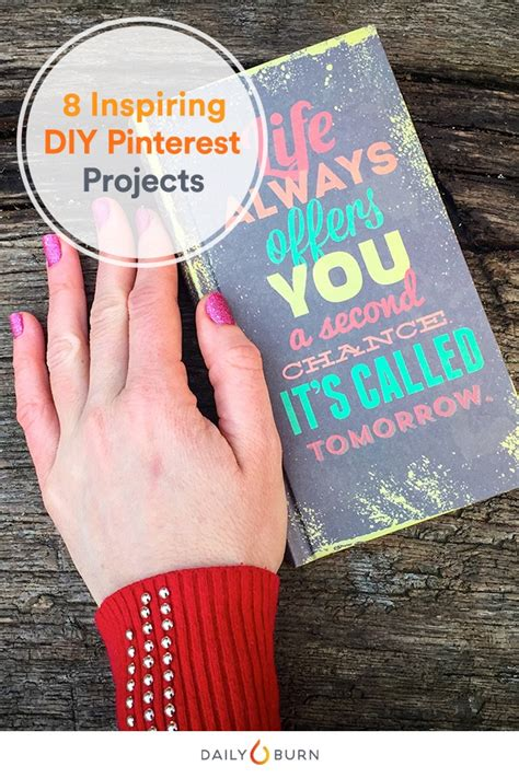 8 Pinterest DIY Projects to Get You More Motivated