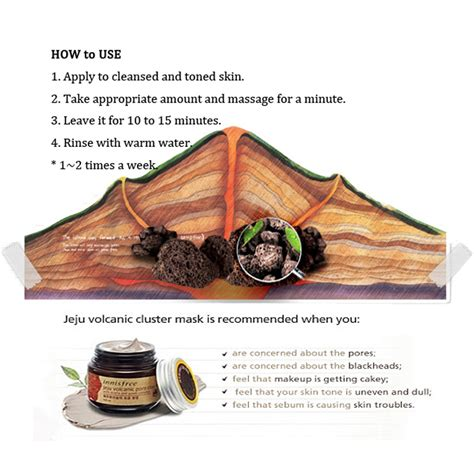 Harga Innisfree Volcanic Pore Clay Mask 100ml innisfree original jeju volcanic pore clay mask 100ml