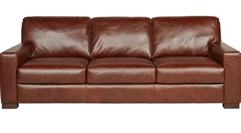 vicario brown leather sofa classic transitional