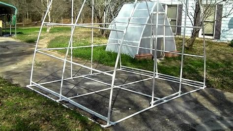 After you learn how to build a pvc. Improved Bigger Better PVC Pipe Greenhouse Soil ...