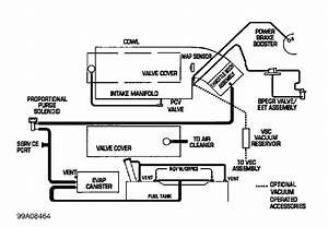 Need A Diagram For The Vacuum Hoses Under The Hood Of A
