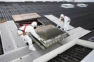 Renovation Toiture Fibro Ciment Amiante : d senfumage amiante remplacement r novation exutoire toiture fibres ciment r novation toiture ~ Nature-et-papiers.com Idées de Décoration