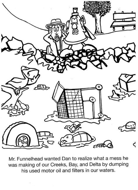land pollution coloring pages   land pollution coloring pages png images