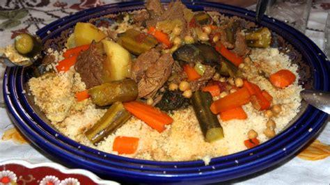 cuisine traditionnelle marocaine couscous marocain traditionnel